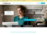 Expert Systems GmbH website screenshot