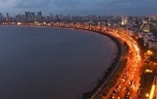 Queen's Necklace, Mumbai, India © KishoreJ
