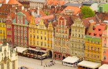 market square in old town of Wroclaw, Poland © Neirfy