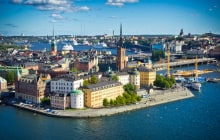 Panorama of Stockholm Old City, Sweden © mffoto