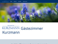 Gästezimmer Johannes Kurzmann website screenshot