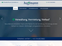 HOFFMANN IMMOBILIEN website screenshot