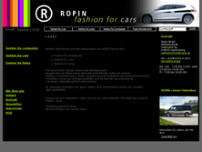 Ropin Werbetechnik website screenshot