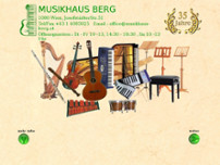 Berg Musikhaus website screenshot
