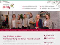 Birdy Stick & Fashion GmbH website screenshot