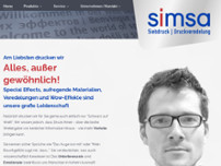Simsa GmbH website screenshot