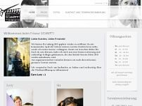 Friseur Schnitt website screenshot
