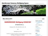 Wolfgang Konecny website screenshot