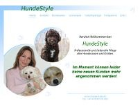 Hundesalon Hundestyle website screenshot