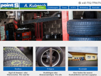 Reifen A. Kubesch & Co KG website screenshot