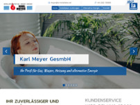 Meyer Karl GesmbH website screenshot
