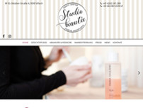 studio beautée Fußpflege u. Kosmetik d. Oberen Apotheke website screenshot