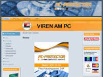 PC-PROTECTOR Computer-Service website screenshot