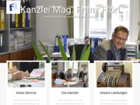 Mag. Franz Flörl website screenshot