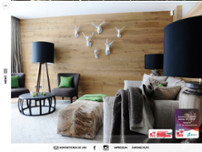 Tischlerei Lanser GmbH / Showroom Lienz website screenshot