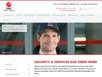 ÖWD security systems GmbH & Co KG website screenshot