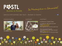 Postl Blumen & Floristik GmbH website screenshot