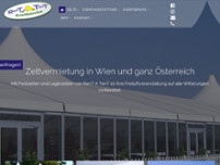 RenT A TenT Eventservice GmbH website screenshot