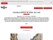 Wien, Sky 360 website screenshot