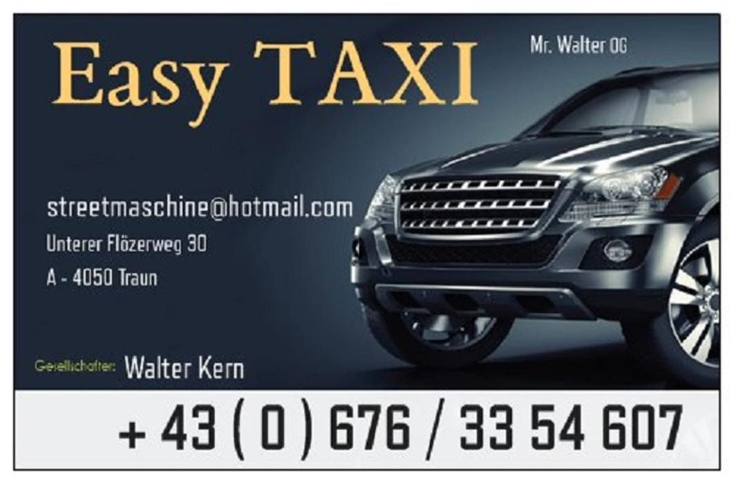 Bilder Easy Taxi - Mr. Walter OG