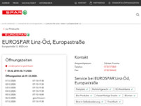 EUROSPAR website screenshot