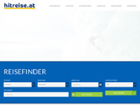 HITREISE GmbH website screenshot