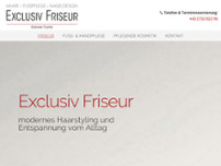 Exclusiv Friseur Gabriele Fischer website screenshot