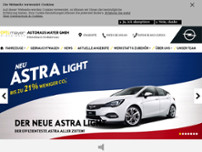 Autohaus Mayer GmbH website screenshot