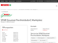 SPAR Gourmet website screenshot