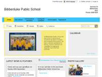 Bibbenluke Public School website screenshot