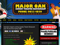 Major oak theatre restaurant