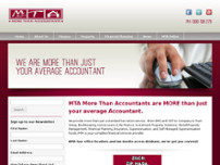 MTA Mobile Tax Accountants Pty Ltd website screenshot