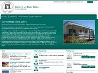 Stonehenge State School website screenshot
