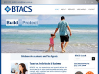 BTACS (Business Taxation Accounting & Consulting Services P/L) website screenshot