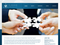 Tri-Meridian Corporate & Commercial Law website screenshot