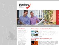 Daniher Cleaning Services website screenshot