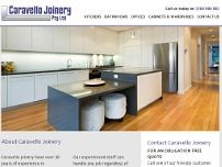 Caravello Joinery website screenshot