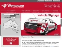 Sign-A-Rama website screenshot