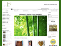 Bamboo Living website screenshot