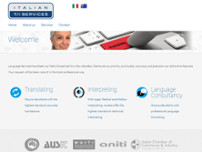 Italian T/I Services website screenshot