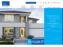 APG Homes Pty Ltd website screenshot