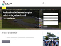 M.E.T.E.C. Drive To Survive website screenshot