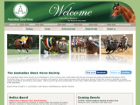 Australian Stock Horse Society Ltd website screenshot