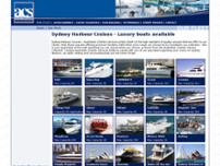Australian Charter Services website screenshot