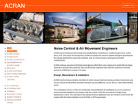 Acran website screenshot