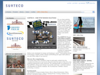 Surteco Australia Pty Ltd website screenshot