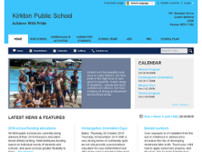 Kirkton Public School website screenshot
