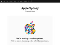 Apple Sydney website screenshot