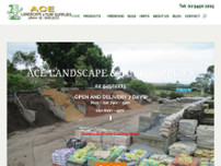 Ace Landscapes website screenshot