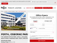 Regus - Perth, Osborne Park website screenshot